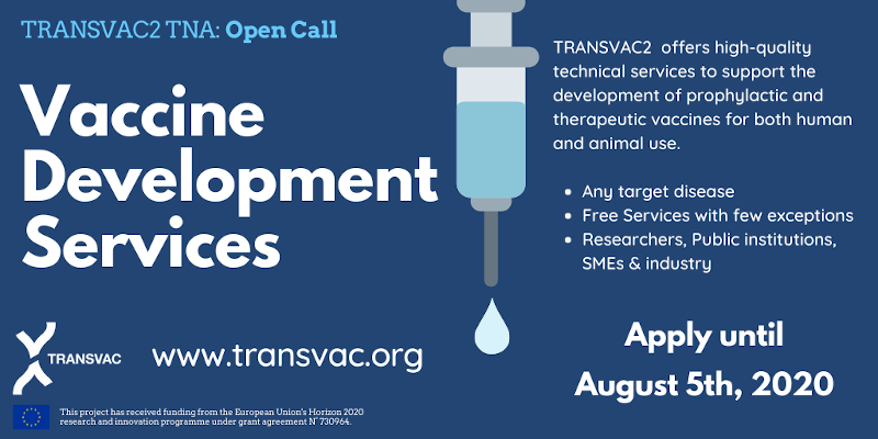 Transvac2 Open call for Vaccine R&D